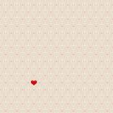 Seamless hearts pattern Stock Photos