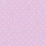 Seamless hearts pattern Stock Photography