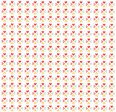 Seamless hearts pattern, wallpaper Stock Images