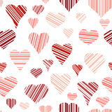 Seamless of Hearts Royalty Free Stock Image