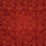 Seamless Henna Pattern Royalty Free Stock Images