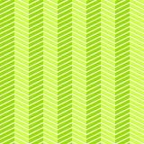 Seamless herringbone green pattern Royalty Free Stock Image