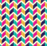 Seamless herringbone tiles colorful pattern Royalty Free Stock Photos