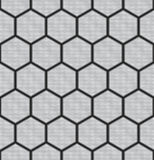Seamless Hex Background Stock Images