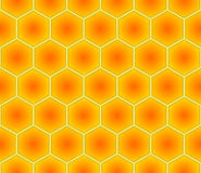 Seamless Hex Background Stock Image