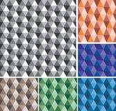Seamless hexagon Royalty Free Stock Photo