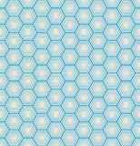 Seamless hexagon background Royalty Free Stock Photos