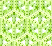 Seamless hexagon cube background texture Stock Photos