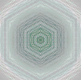 Seamless hexagon pattern silver gray pale green pink shiny Stock Photos