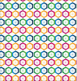 Seamless hexagon shape background Royalty Free Stock Photo