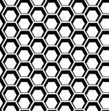 Seamless hexagon vector Stock Photos