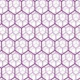 Seamless hexagon web Stock Photo