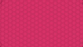 Hexagon Abstract Futuristic Background Seamless Loop Animation, Motion Graphics Element.
