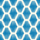 Seamless hexagonal geometric tiles background Stock Image