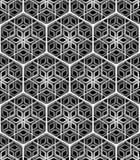 Seamless hexagonal pattern Stock Photos