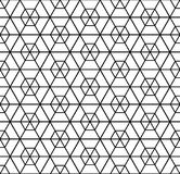 Seamless hexagons pattern. Geometric texture. Royalty Free Stock Images