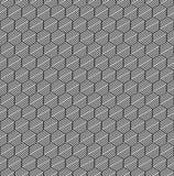 Seamless hexagons pattern. Stock Photos