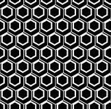 Seamless hexagons pattern. Stock Images