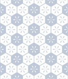 Seamless hexagons pattern. Royalty Free Stock Photography