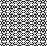 Seamless hexagons texture. Honeycomb pattern. Stock Image