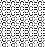 Seamless hexagons texture. Stock Photos