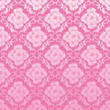 Seamless hibiscus pattern Stock Photography
