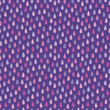 Seamless hipster background raindrops purple magenta pink Royalty Free Stock Photos