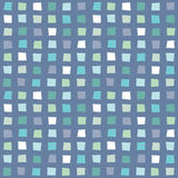 Seamless hipster geometric pattern aqua blue navy. Seamless vector hipster geometric background pattern with polygons in aqua blue, navy and white. Masculine vector illustration