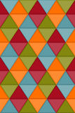 Seamless Hipster Geometric Pattern Royalty Free Stock Images