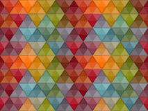 Seamless Hipster Geometric Pattern Stock Image