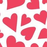 seamless hjärtamodell wallpape för tappning för vektor för bakgrundsillustrationförälskelse Valentin dag, mors dag, bröllop, urkl vektor illustrationer