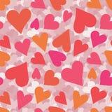 seamless hjärtamodell wallpape för tappning för vektor för bakgrundsillustrationförälskelse Valentin dag, mors dag, bröllop, urkl royaltyfri illustrationer