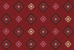 Seamless holiday pattern. Seamless native graphic pattern with season greetings holiday pattern Stock Photography
