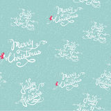 Seamless holiday pattern. Winter background. Holiday design. Vector illustration Royalty Free Stock Images