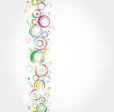 Seamless holiday stripe. From different topics Royalty Free Stock Photography
