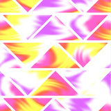 Seamless holographic pattern. Different colors. Royalty Free Stock Photos
