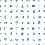 Seamless Shining Holographic Stickers Pattern. Seamless Holographic Shining Stickers Pattern. Geometric triangles Stock Photos