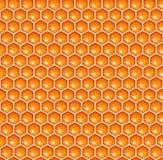 Seamless honeycomb Stock Image