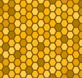 Seamless honeycomb pattern Stock Photos