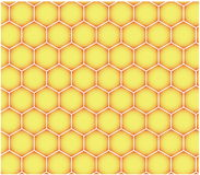 Seamless honeycomb pattern Royalty Free Stock Images