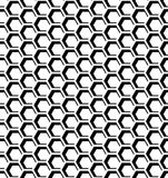 Seamless honeycomb  pattern. Stock Image