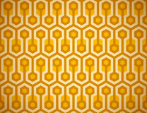 Seamless Honeycomb Pattern Royalty Free Stock Photos