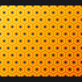 Seamless honeycomb pattern. Vector. Vector illustration depicting abstract honeycomb pattern Stock Image