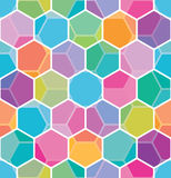 Seamless honeycomb pattern Royalty Free Stock Image