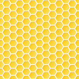 Seamless Honeycomb Pattern Stock Images