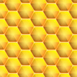 Seamless honeycomb pattern. Vector illustration for Your design, eps10 Royalty Free Stock Photography