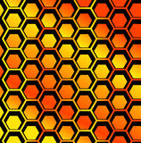 Seamless Honeycomb pattern vector Stock Photos