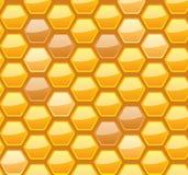 Seamless honeycomb for your design Stock Photos