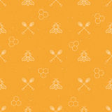seamless honungmodell Arkivbild