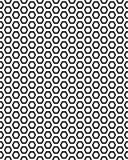 seamless honungskakamodell Arkivbild